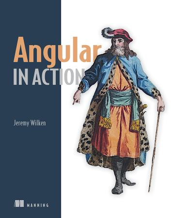 Angular in Action cover