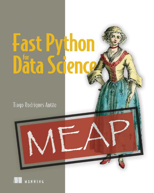 Fast Python for Data Science MEAP V06 cover