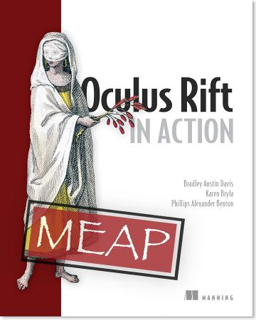 Oculus Rift in Action MEAP v11 cover