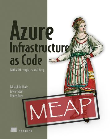 Azure Infrastructure as Code MEAP V3 cover