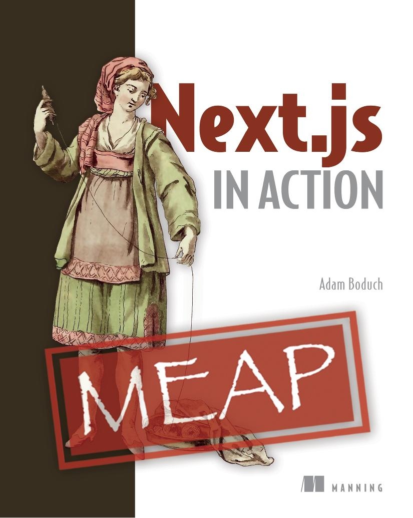 Next.js in Action MEAP V02 cover