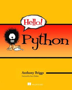 Hello! Python cover