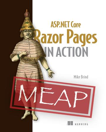 Razor Pages in Action MEAP V01 cover