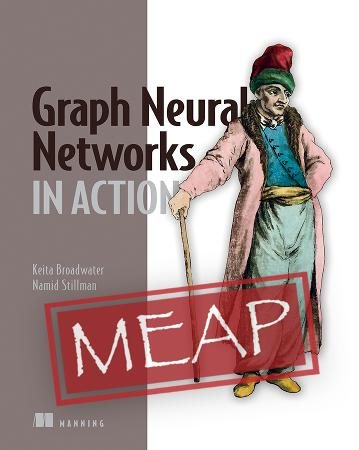 Graph Neural Networks in Action MEAP V02 cover