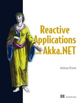 Reactive Applications with Akka .NET cover