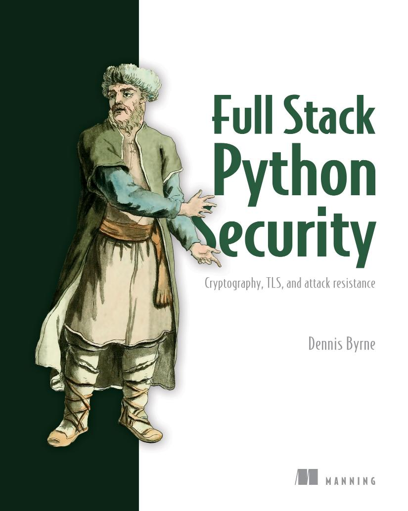 Practical Python Security MEAP V04 cover