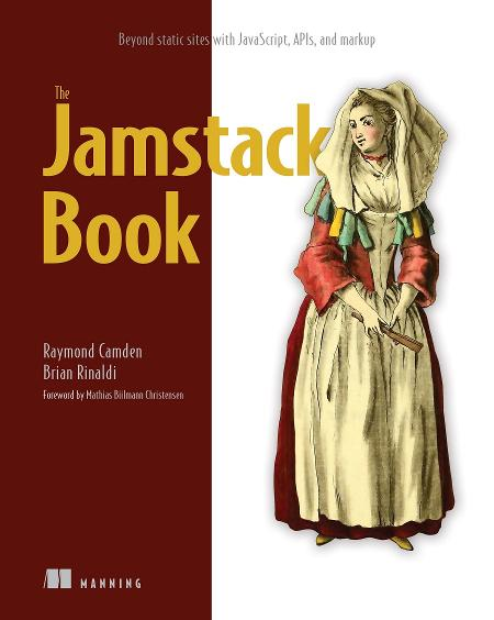The Jamstack Book MEAP V01 cover