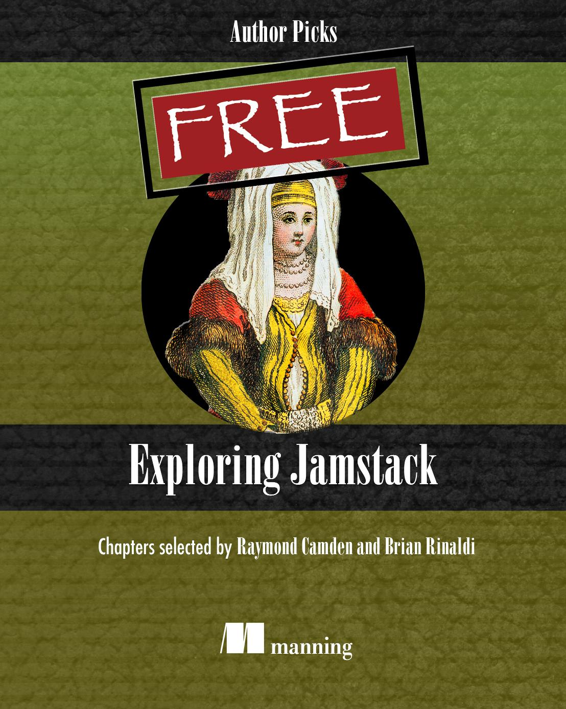 Exploring Jamstack cover