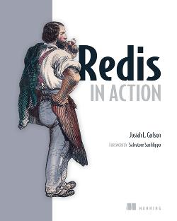 Redis in Action cover