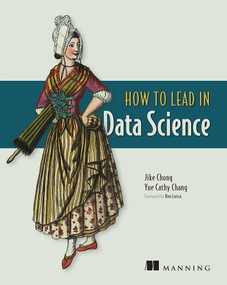 Become a Leader in Data Science MEAP V01 cover