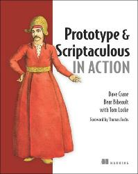 Prototype and Scriptaculous in Action cover