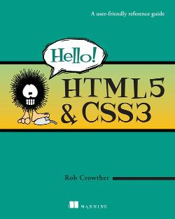 Hello! HTML5 & CSS3: A user-friendly reference guide cover
