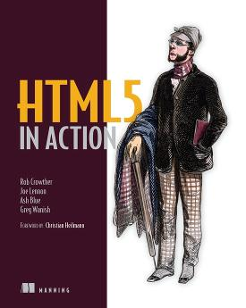 HTML5 in Action cover