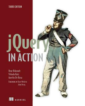 jQuery in Action, Third Edition cover