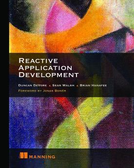 Reactive Application Development cover