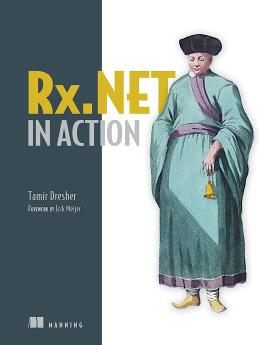 Rx.NET in Action cover