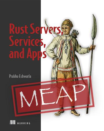 Rust Servers, Services, and Apps MEAP V04 cover