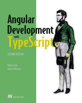 Angular Development with Typescript, Second Edition cover