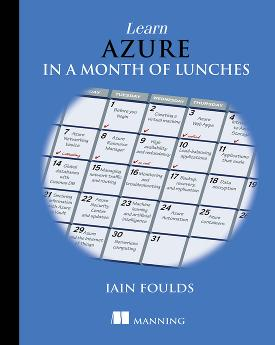 Learn Azure in a Month of Lunches cover