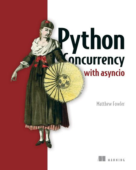 Python Concurrency with asyncio MEAP V10 cover