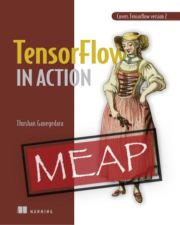 TensorFlow 2.0 in Action MEAP V04 cover