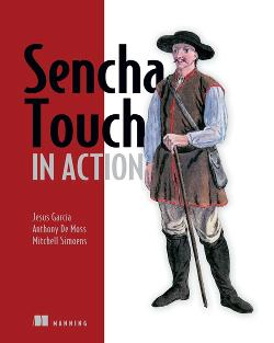 Sencha Touch in Action cover