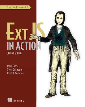 Ext JS in Action, Second Edition cover
