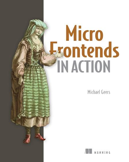 Micro Frontends in Action cover