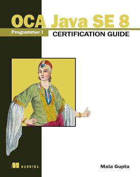 OCA Java SE 8 Programmer I Certification Guide cover