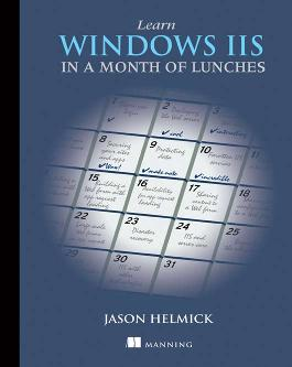 Learn Windows IIS in a Month of Lunches cover