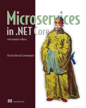 Microservices in .NET Core: with examples in Nancy cover