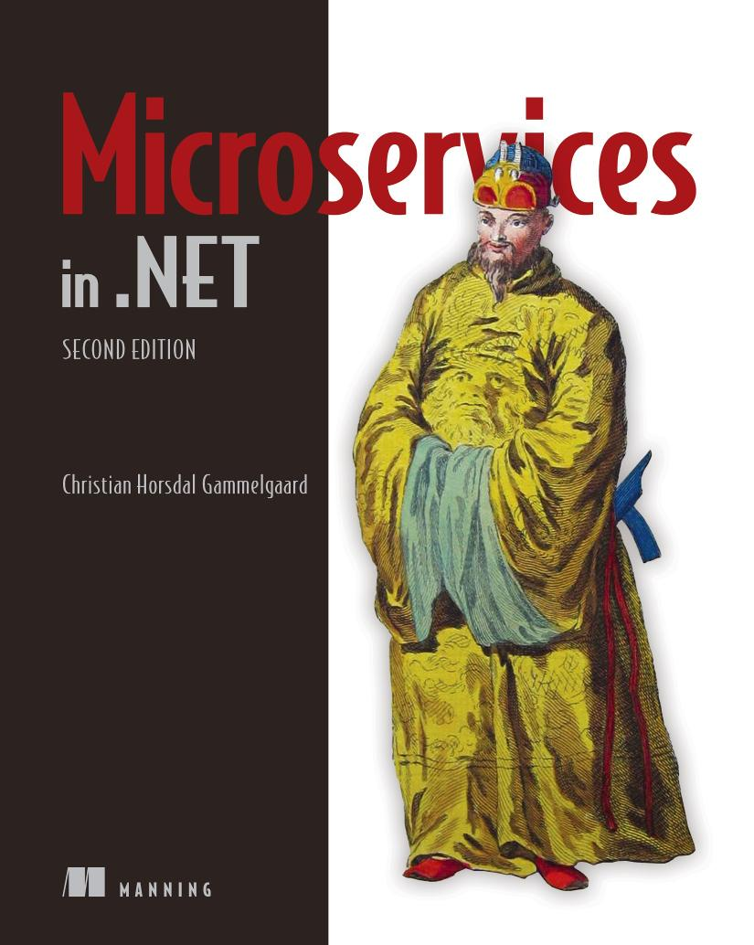 Microservices in .NET Core, Second Edition MEAP V06 cover