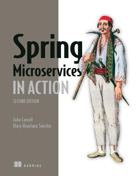 Spring Microservices in Action, Second Edition MEAP V08 cover