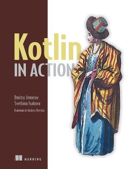Kotlin in Action cover