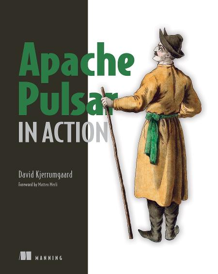 Apache Pulsar in Action MEAP V05 cover