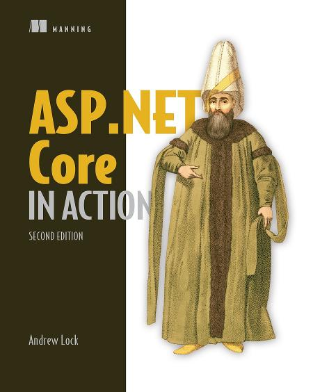 ASP.NET Core in Action, Second Edition MEAP V06 cover