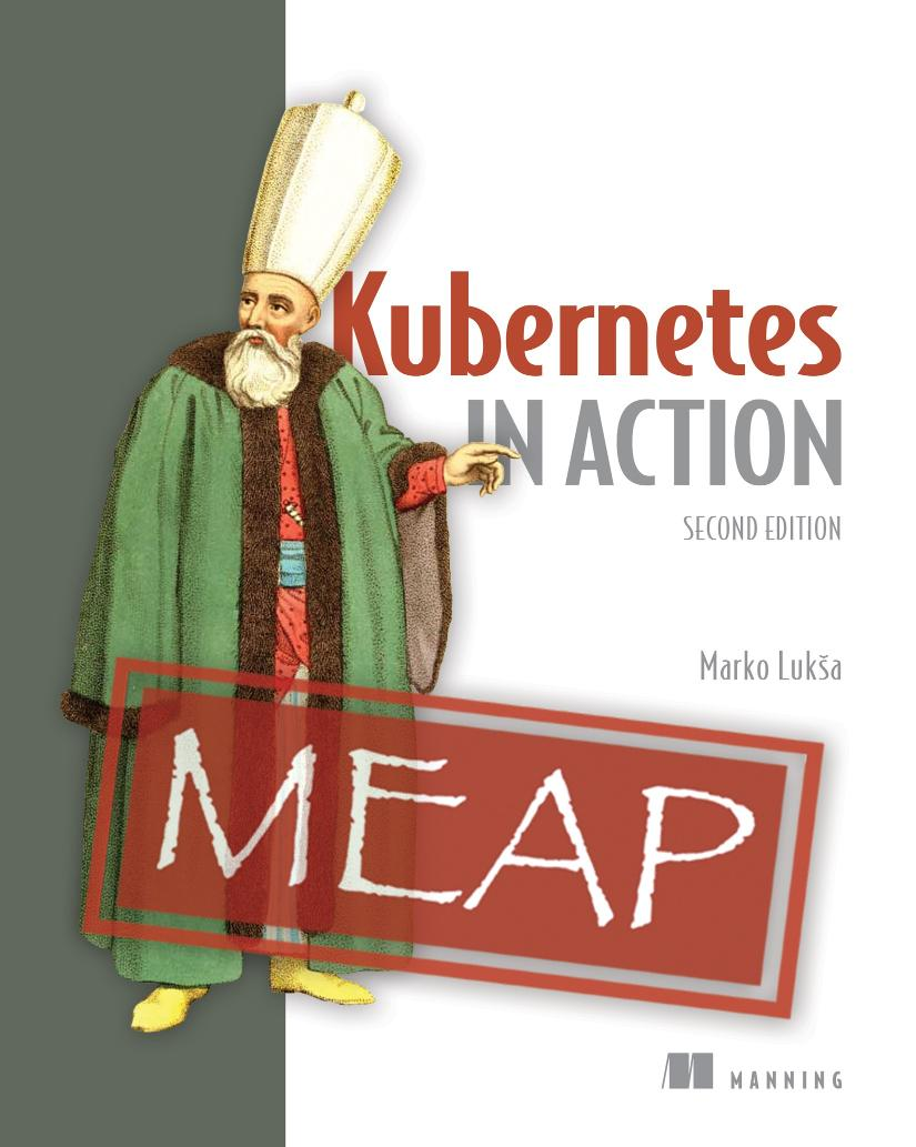 Kubernetes in Action, Second Edition MEAP V08 cover