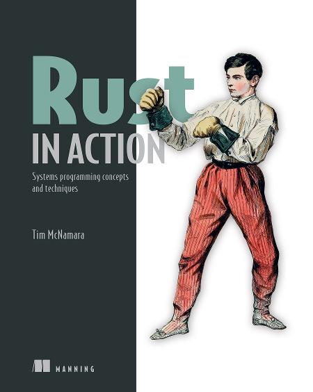 Rust in Action MEAP V15 cover