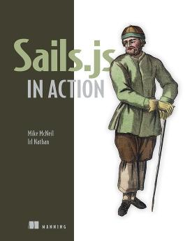 Sails.js in Action cover
