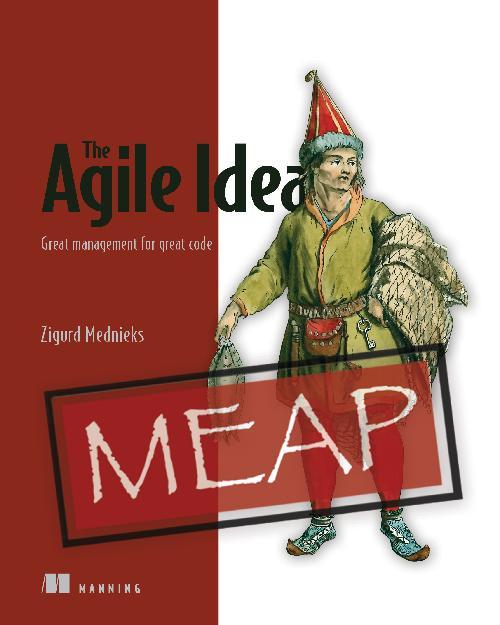 The Agile Idea MEAP V02 cover