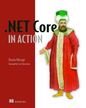 .NET Core in Action cover