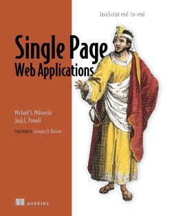 Single Page Web Applications: JavaScript end-to-end cover