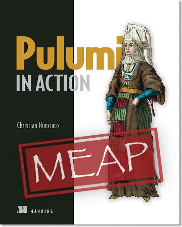 Pulumi in Action MEAP V01 cover