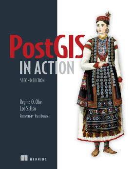 PostGIS in Action, Second Edition cover