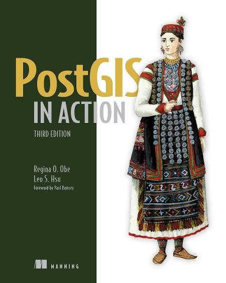PostGIS in Action, Third Edition MEAP V14 cover