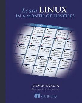 Learn Linux in a Month of Lunches cover
