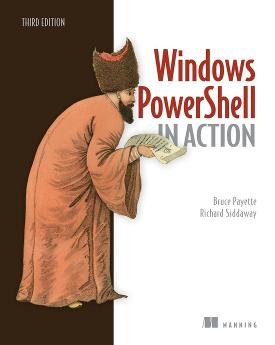 Windows PowerShell in Action, Third Edition cover