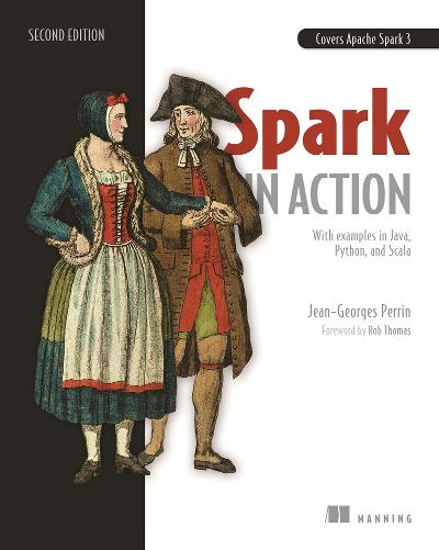 Spark in Action, Second Edition cover