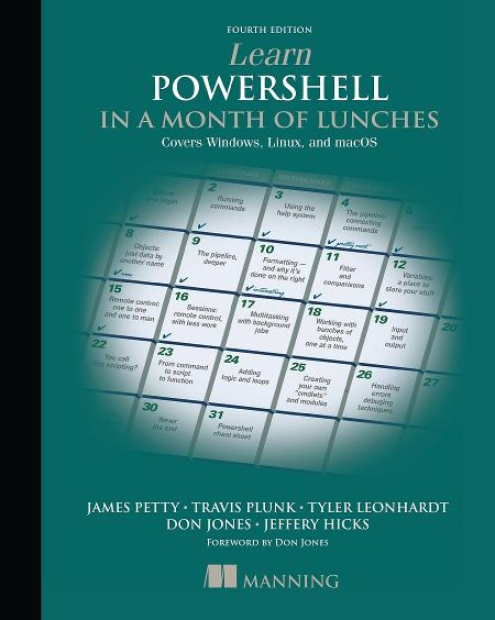 Learn PowerShell in a Month of Lunches MEAP V11 cover