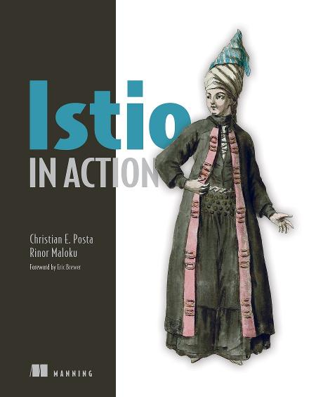 Istio in Action MEAP V08 cover